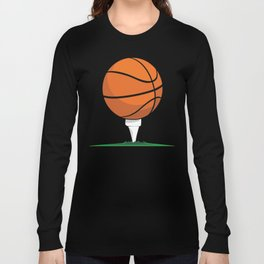 Basketball Tee Long Sleeve T-shirt