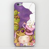 neverland iPhone & iPod Skins featuring Neverland by Eunice Ng