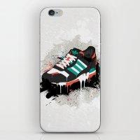 sneaker iPhone & iPod Skins featuring Sneaker by Nicu Balan