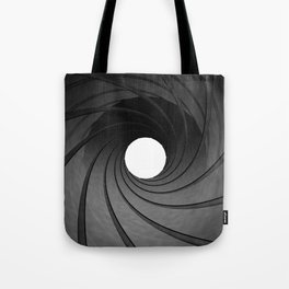 Gun barrel Tote Bag