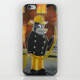 The Fire Rat iPhone Skin