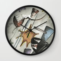 Super Mario Brothers Wall Clock
