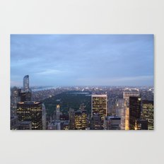 Central Park View from Rockefeller Centre Canvas Print