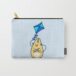 Fat bunny flies a kite Carry-All Pouch