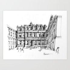Il Palazzo Ducale di Genova Art Print