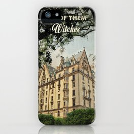 Rosemary's baby travel movie art iPhone Case