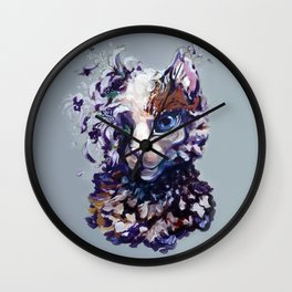 Brightheart Flowers Wall Clock