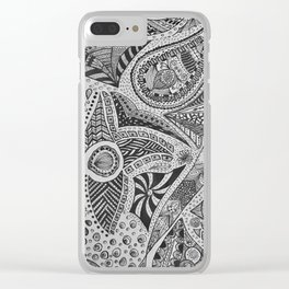 Mind Of Mine Clear iPhone Case