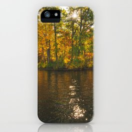 Fall Is In Session iPhone Case