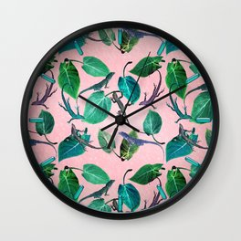 Mayfair Lizards and Leaves Wall Clock