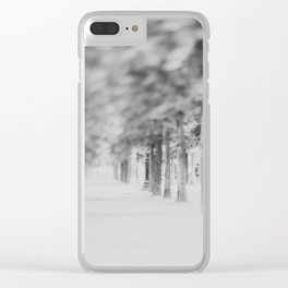the Tuileries Garden, Paris Clear iPhone Case
