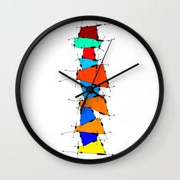 Sanomessia - melting cubes Wall Clock