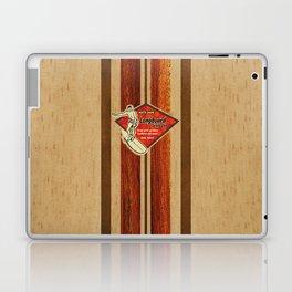 Waimea Hawaiian Surfboard Design Laptop & iPad Skin