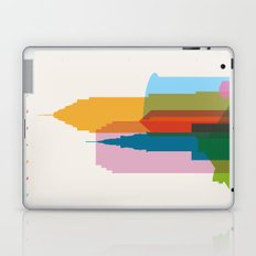 Shapes of Cleveland accurate to scale Laptop & iPad Skin