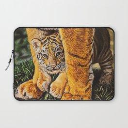 baby tiger cub Laptop Sleeve