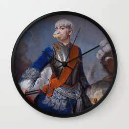 King TOP for Arena Homme Wall Clock