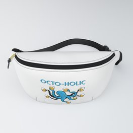 Octo-Holic Octopus Funny Beer Gift Fanny Pack
