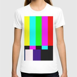No Signal TV T-shirt