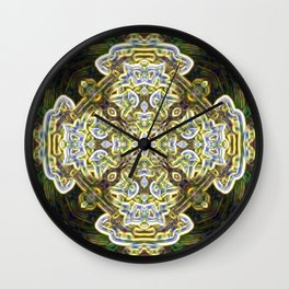 Mandala of Love and Mercy Wall Clock