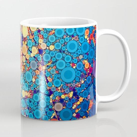 Sky and Leaves Mug