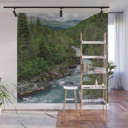 Alaska River Canyon - II Wall Mural