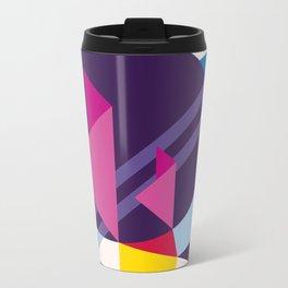 Abstract modern geometric background. Composition 7 Metal Travel Mug