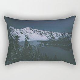 Crater Lake III Rectangular Pillow