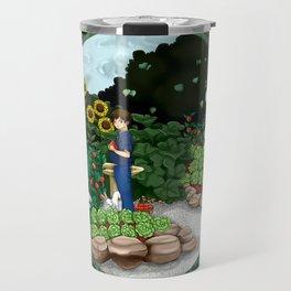 veggie garden for boy Travel Mug