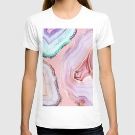 Mineral Agates #Glam collection T-shirt