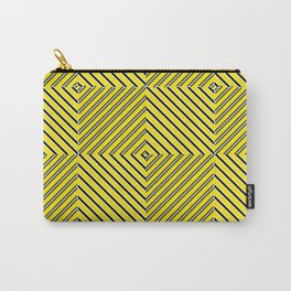 Yellow plaid Carry-All Pouch