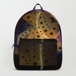 Ethereal Flame with Stars Backpack