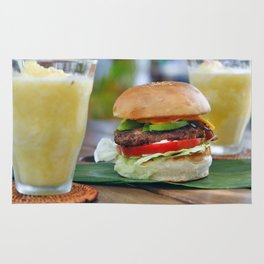Gourmet Burger and Smoothies  Rug