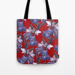 Orchids in Wine Tote Bag