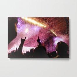 Rock Show Metal Print