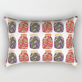 Ferments, Pickles & Kimchi Rectangular Pillow