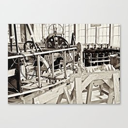 Aviation Science Canvas Print