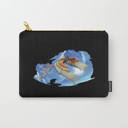 Squid Hawk Creature in the Clouds Carry-All Pouch