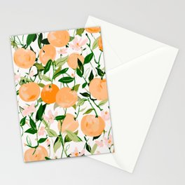 Spring Clementines Stationery Cards