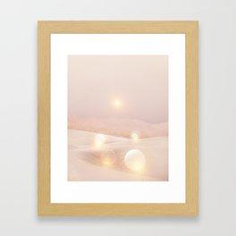 2077 landscape IV Framed Art Print