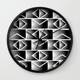 Black & White Illusion Wall Clock