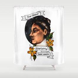 Henrietta Swan Leavitt Shower Curtain