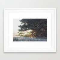 shining Framed Art Prints featuring Shining.  by Chris Dela Llana