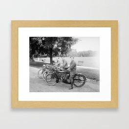 Three Indians Framed Art Print