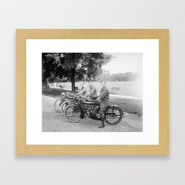 Three Indians Framed Art Print