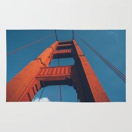 Looking up Going Over The Bridge Rug