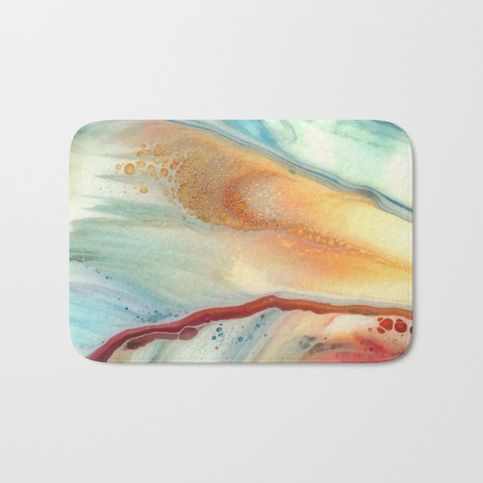 Colorful abstraction Bath Mat