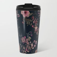 Japanese Boho Floral Travel Mug