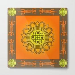African design Metal Print
