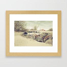 Rusting Classics  Framed Art Print