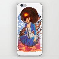 bioshock infinite iPhone & iPod Skins featuring Bioshock by Vaahlkult